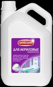 Unicum Средство для чистки акриловых ванн и душевых кабин 3 л