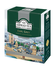 Чай AHMAD TEA черный с бергамотом Earl Grey 100 пак.