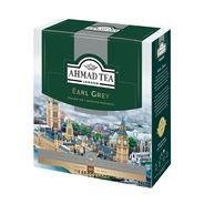 AHMAD TEA Чай черный с бергамотом Earl Grey 100 пак.