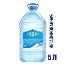 Aqua Minerale Вода столовая/питьевая негазированная 5л