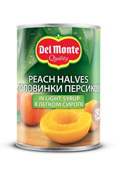 Del Monte Персики консервированные половинки в легком сиропе 420г