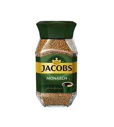 JACOBS Monarch Кофе растворимый сублимированный 190г