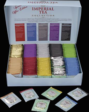 Imperial Tea Чай ассорти из 10 вкусов в картонной коробке в саше 250 пак.
