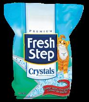 Fresh Step Наполнитель для кошачьего туалета впитывающий Crystals 1,81 кг