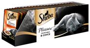 Sheba Влажный корм для кошек c телятиной и языком Pleasure 85г х 24шт.