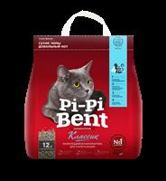 Pi-Pi-Bent Наполнитель для кошачьего туалета комкующийся Классик 5кг