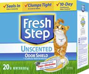 Fresh Step Наполнитель для кошачьих туалетов комкующийся 6,35 кг