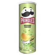 Pringles Чипсы картофельные Весенний лук 165 г