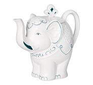 HILLTOP Чай черный Подарок Цейлона в фарфоровом заварочном чайнике Classic 80 г