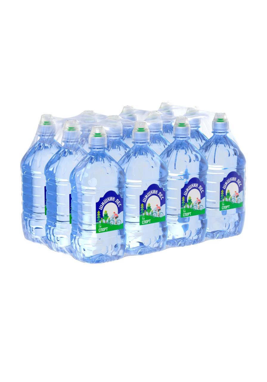 Питьевая вода ШИШКИН ЛЕС спорт, 1л
