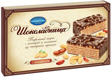 Торт вафельный КОЛОМЕНСКОЕ Шоколадница, 430 г