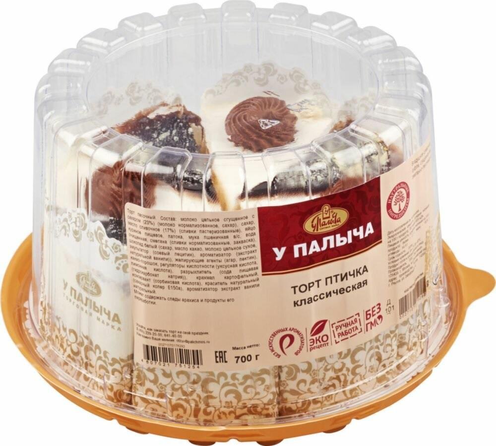 Торт ОТ ПАЛЫЧА Птичье молоко, 700г
