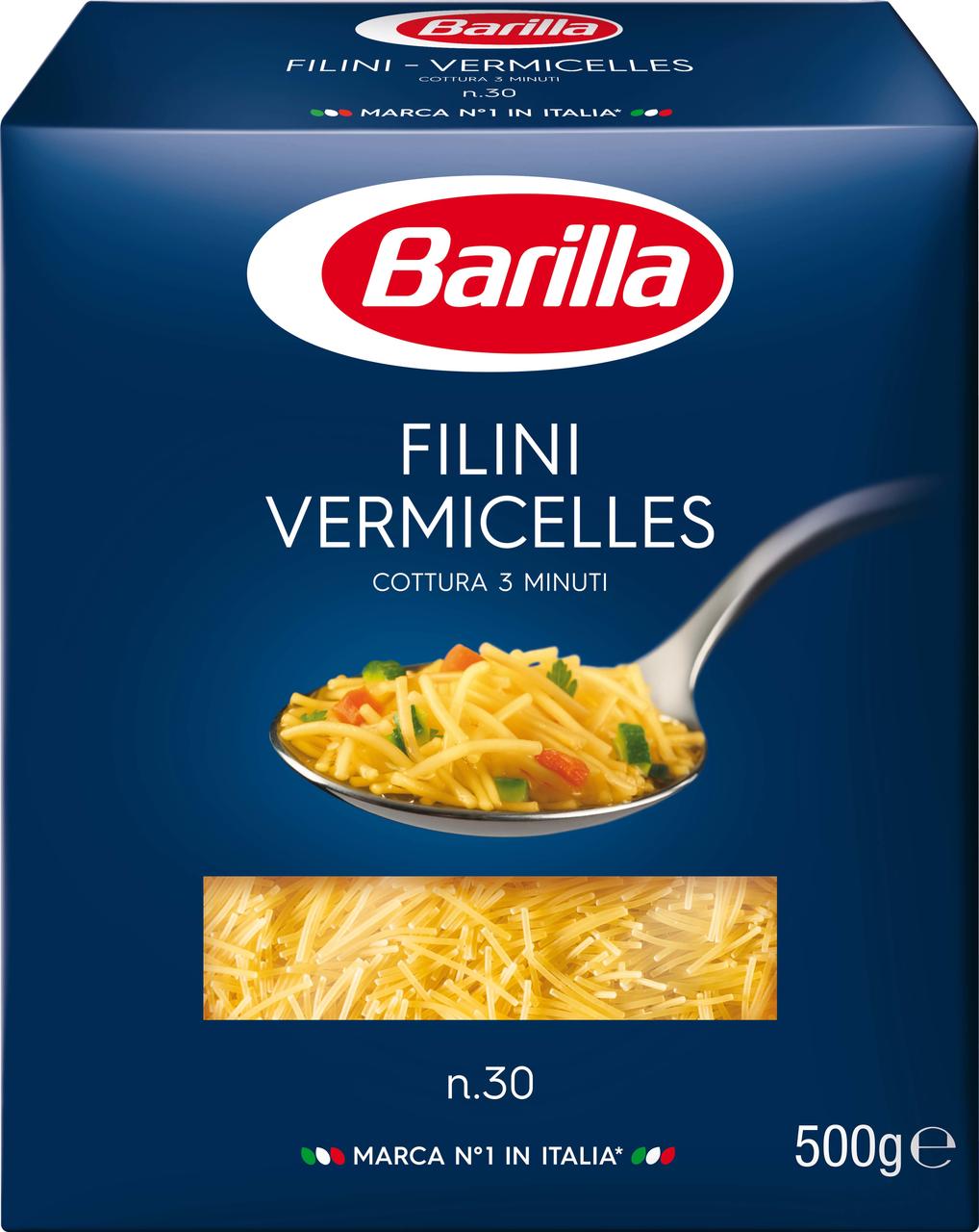Макароны Филини BARILLA, 500г