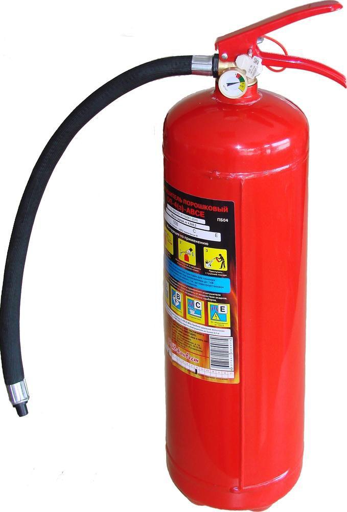 газовый огнетушитель с фото