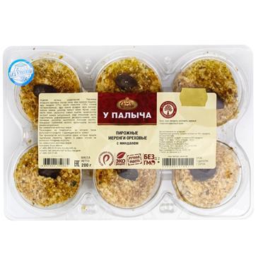Заварное пирожное  Меренги ореховые ОТ ПАЛЫЧА, 200г
