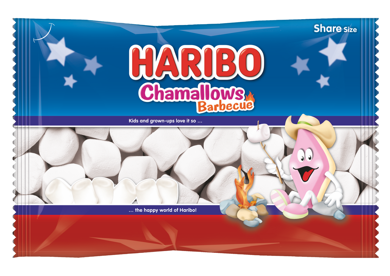 Зефир HARIBO Chamallows Barbecue, 300 г