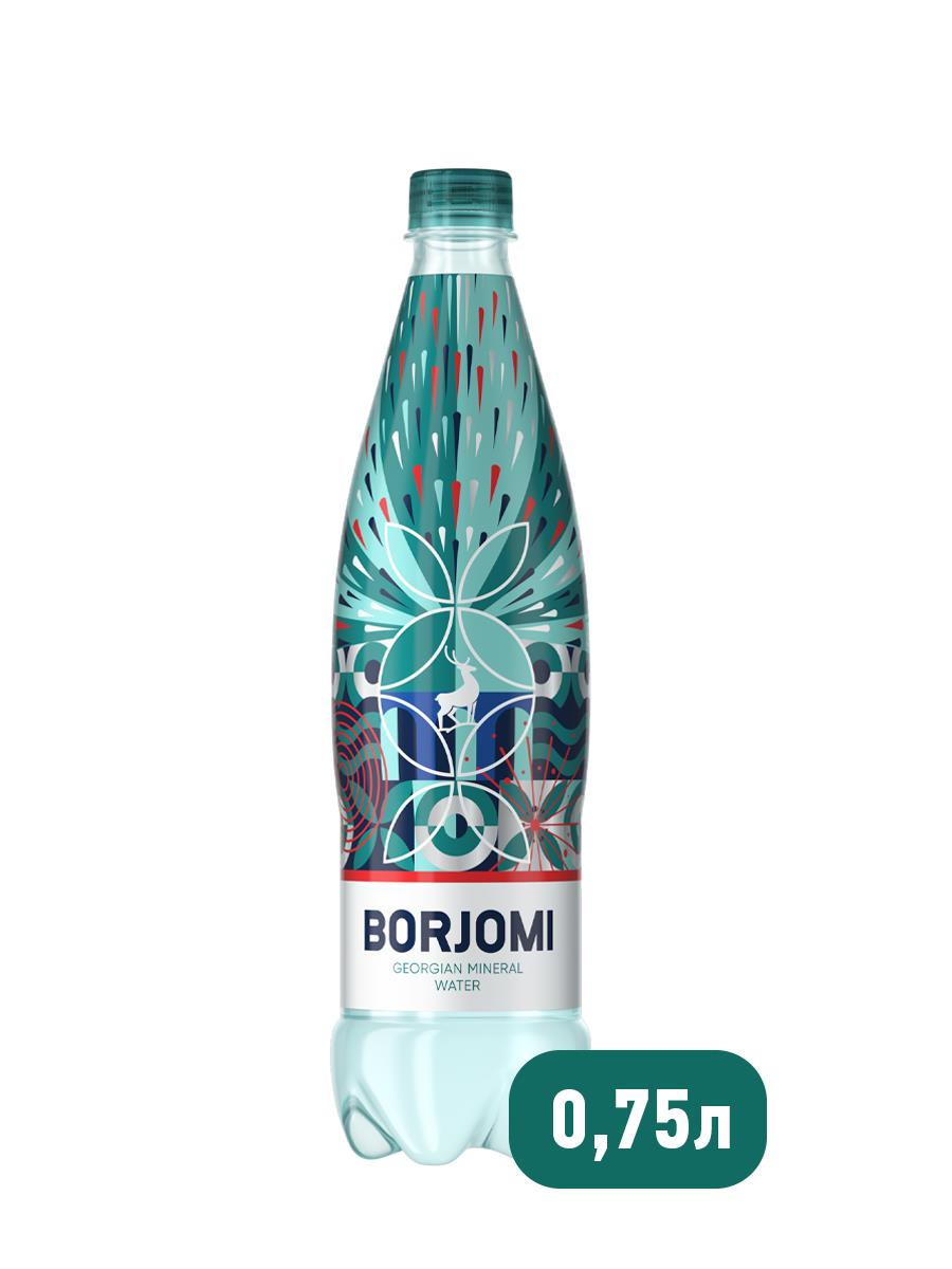 Минеральная вода BORJOMI газированная, 0,75 л