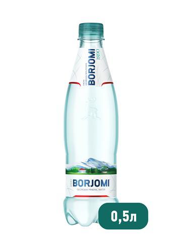 Минеральная вода BORJOMI газированная, 0,5 л