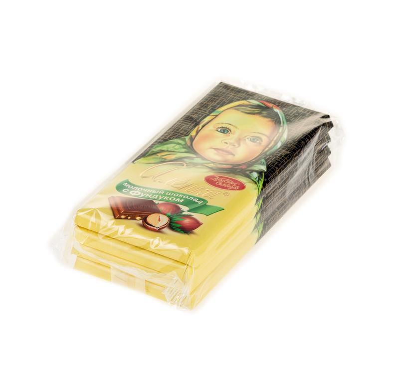 Шоколад АЛЕНКА с фундуком, 100 г