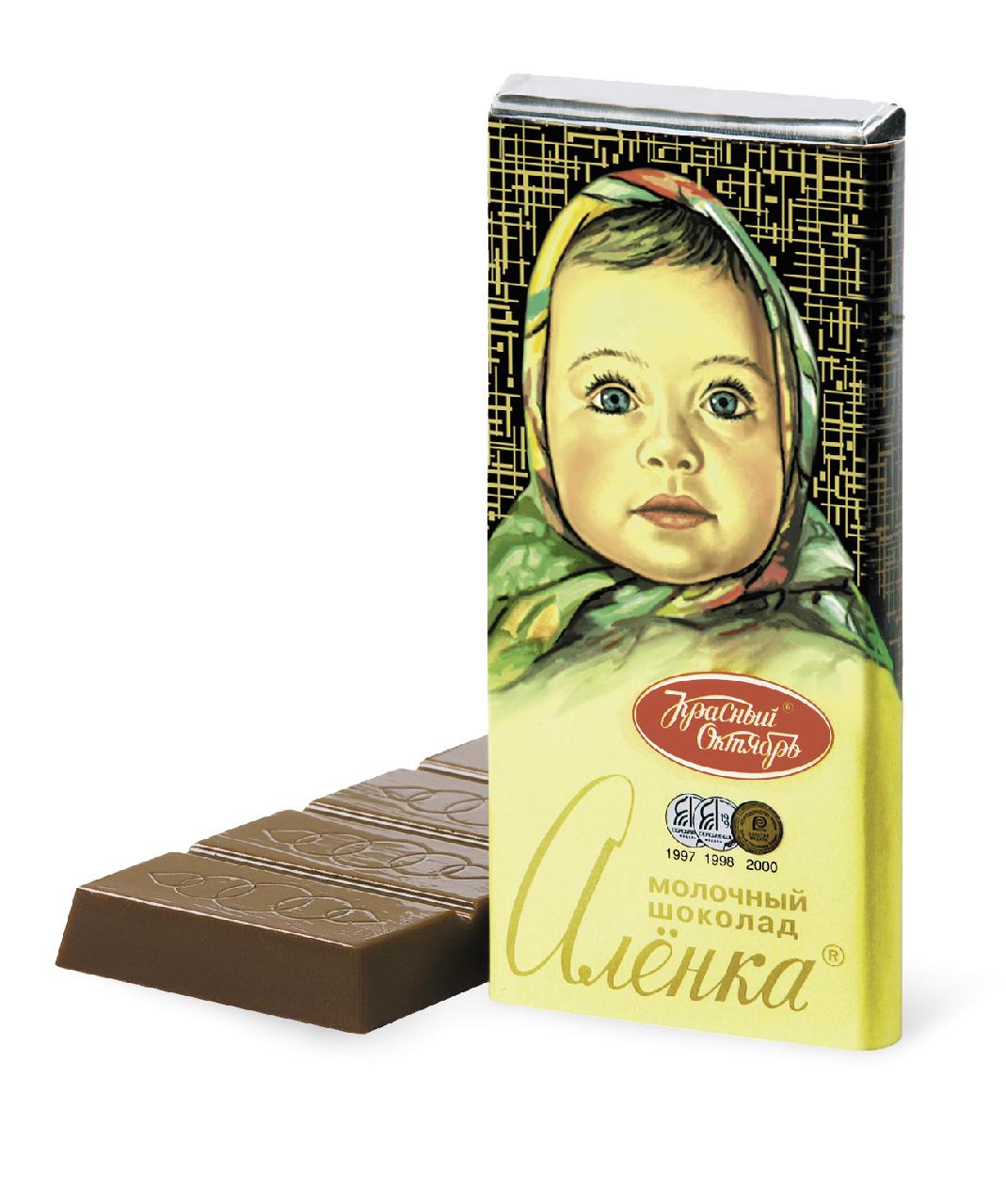 Шоколад АЛЁНКА, 60г
