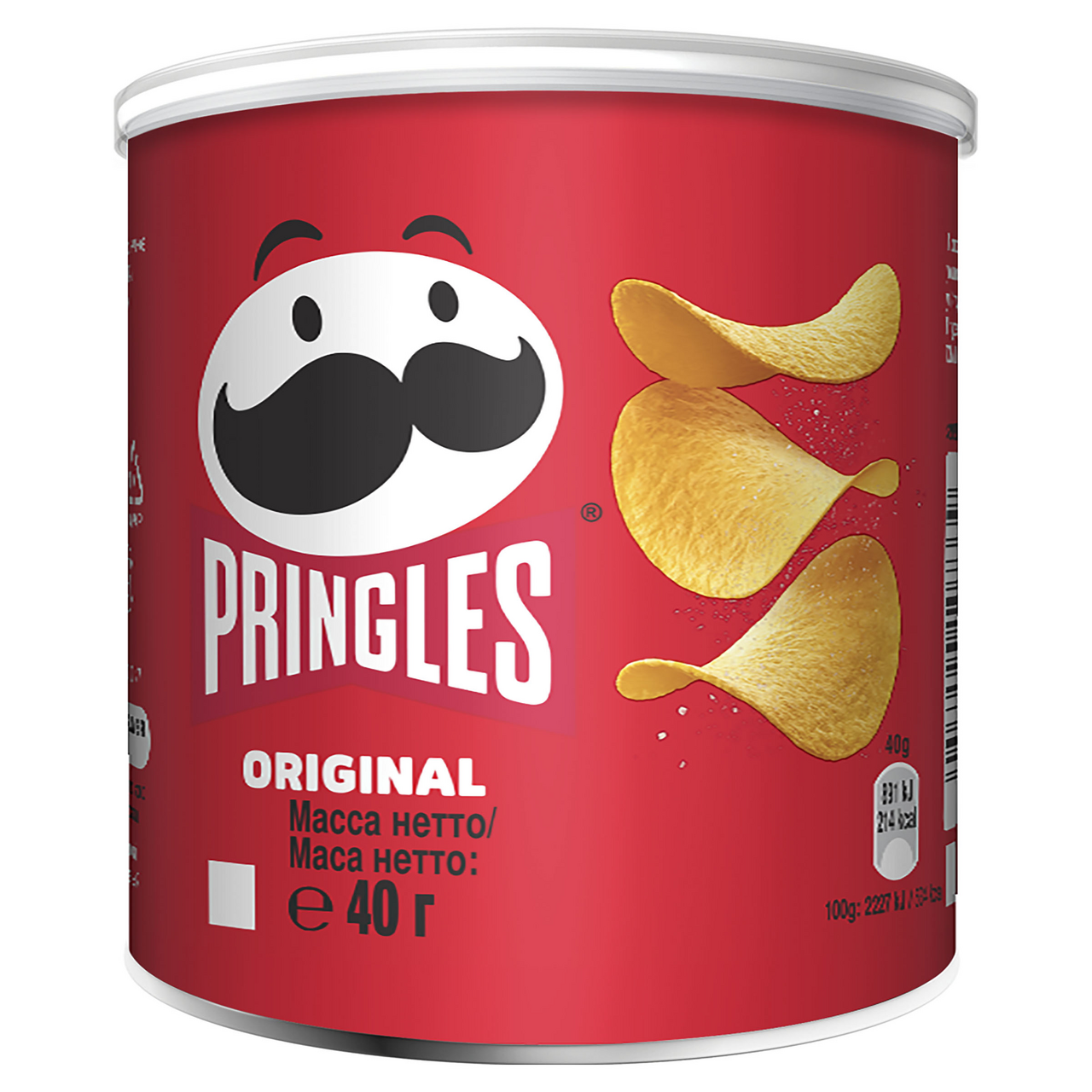 Чипсы PRINGLES Оригинал, 40г