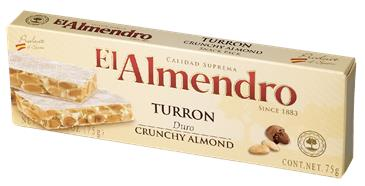 Туррон EL ALMENDRO с миндалем, 75г