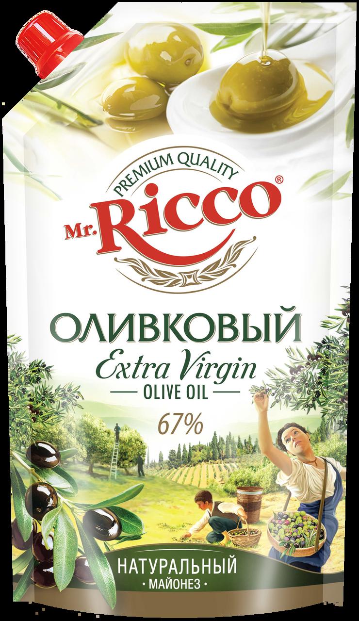 Майонез MR.RICCO оливковый 67%, 400 г