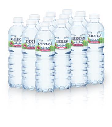 Вода СЕНЕЖСКАЯ негазированная пэт, 0,5л
