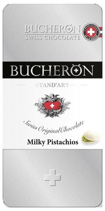 Шоколад молочный BUCHERON Milky Pistachios, 100г