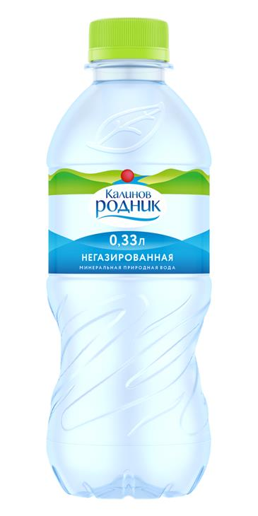Вода Калинов Родник Б/ГАЗА 0,33 л