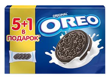 Печенье шоколадное OREO, 228г