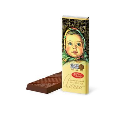 Шоколад молочный АЛЁНКА, 20г