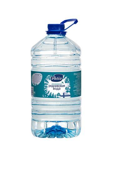 Вода VALIO Родниковая, 5,1л