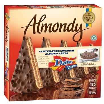 Торт ALMONDY Daim, 1000г