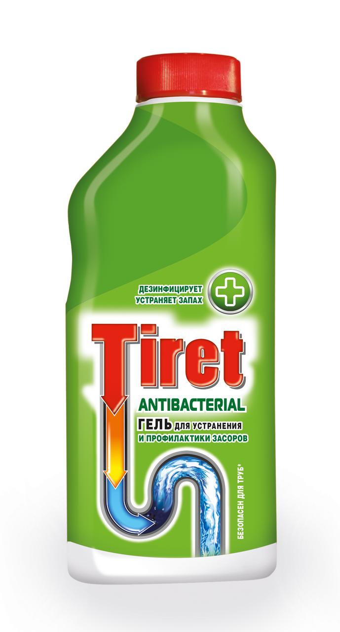 Средство для чистки труб TIRET, 500мл