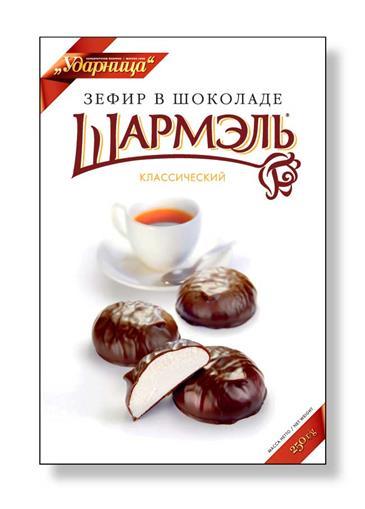 Зефир ШАРМЭЛЬ в шоколаде Классический, 250 г