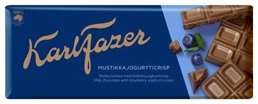 Конфеты KARL FAZER Шоколад молочный с йогуртом, 190 г