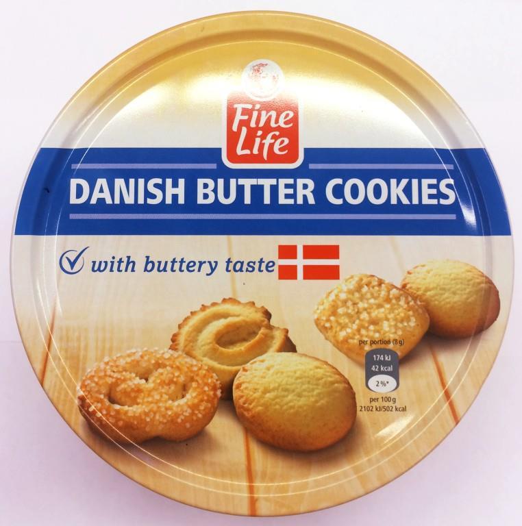 Печенье FINE LIFE датское сливочное, 1000г