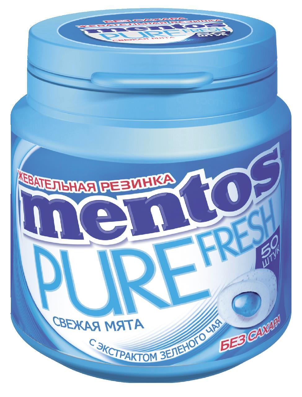 Жевательная резинка MENTOS Чистое дыхание, 100 г