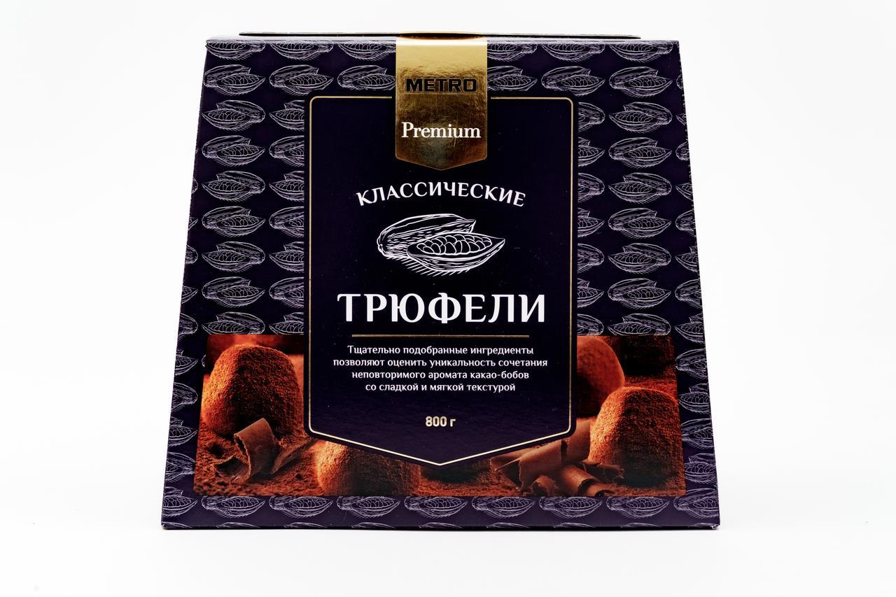 Конфеты Трюфели FINE FOOD FINESTRO, 800г
