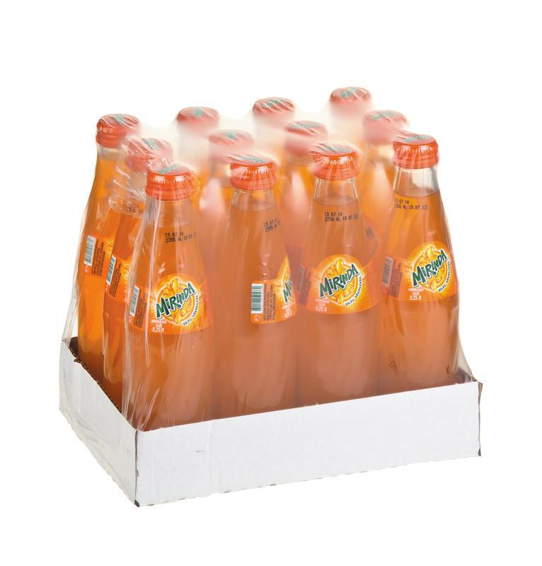 Газированный напиток MIRINDA Апельсин, 0,25 л