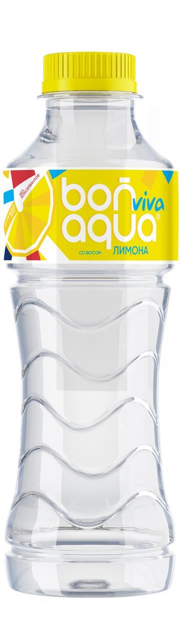 Напиток безалкогольный BONAQUA Viva со вкусом лимона негазированный, 0,5 л