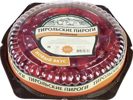 Пирог ТИРОЛЬСКИЕ ПИРОГИ малиновый, 590г
