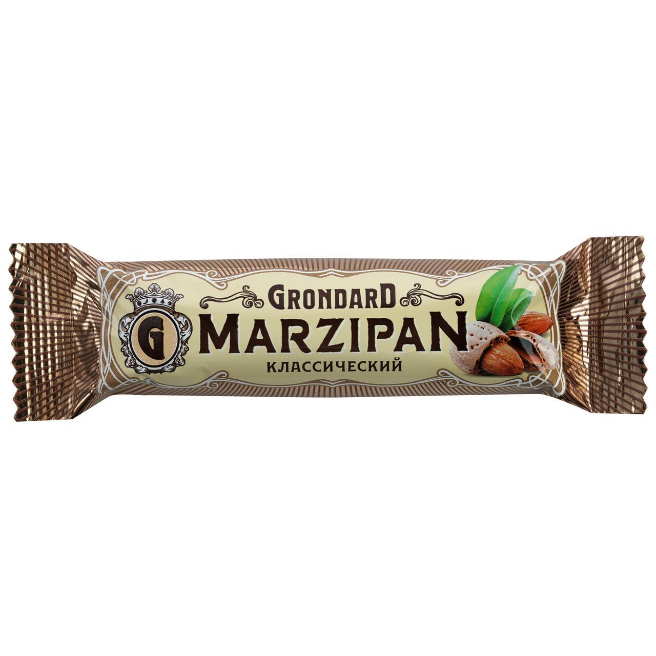 Батончик GRONDARD Marzipan классический, 50г