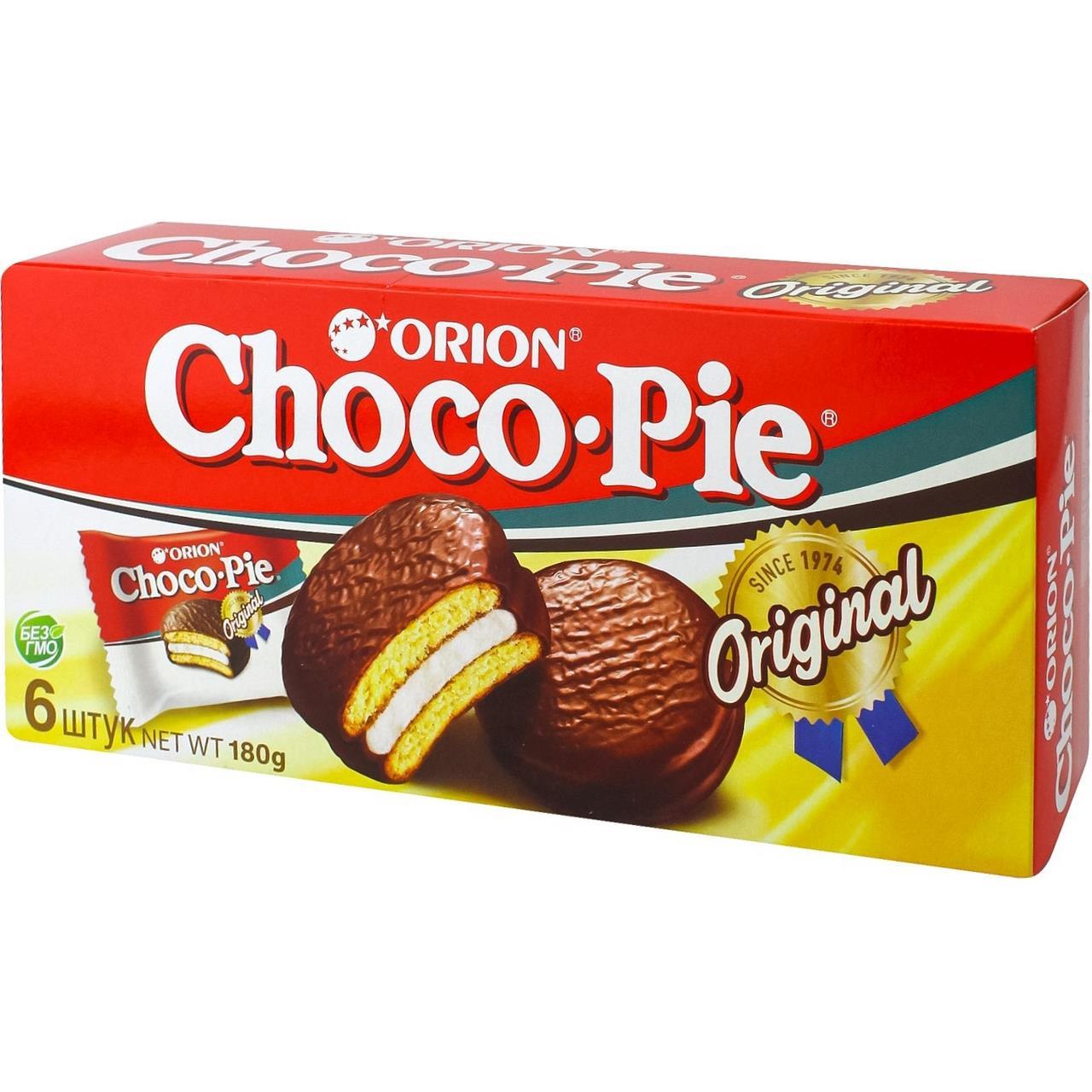 Пирожное ORION Choco-Pie, 180г