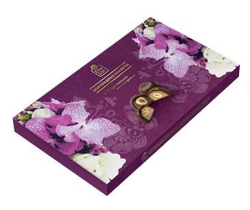 Шоколадные конфеты FINE FOOD FINESTRO Ассорти с лесным орехом, 190г