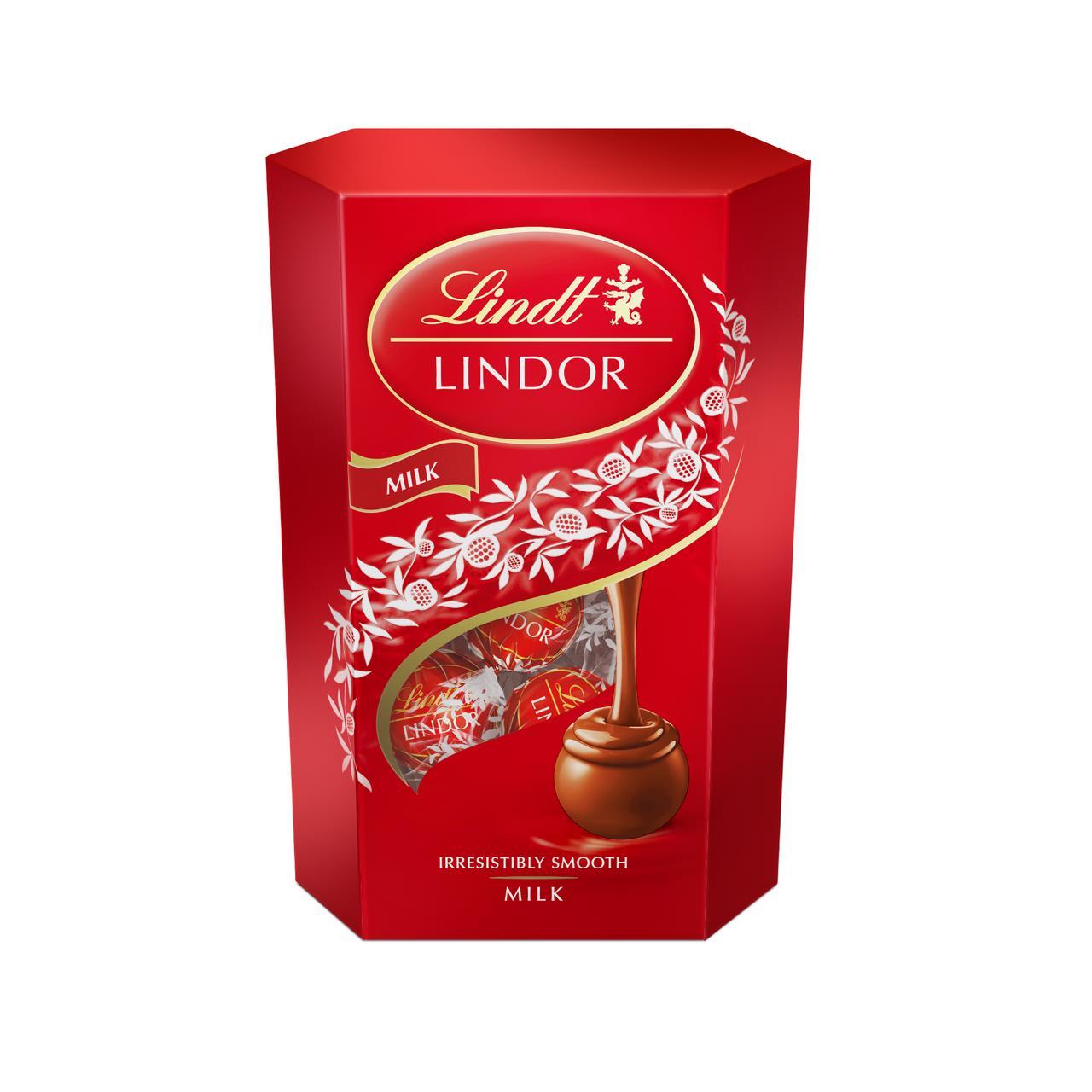 Шоколадные конфеты LINDT LINDOR Шарики, 200г