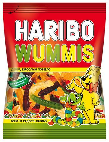 Мармелад HARIBO Wummis, 140 г