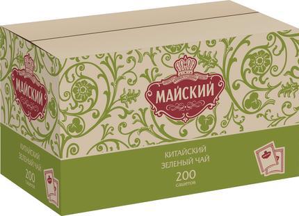 Чай зеленый МАЙСКИЙ Китайский в сашетах, 200х2г
