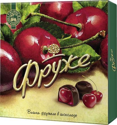 Вишня ФРУЖЕ фружеле в шоколаде, 110г